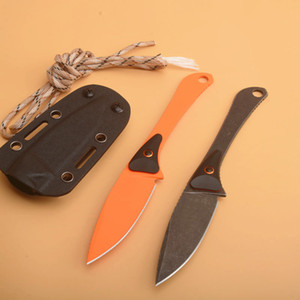 Fast shipping Butterfly 15200 Outdoor Straight Hunting Knife 440C Drop Point Blade Full Tang Steel + G10 Handle With Kydex