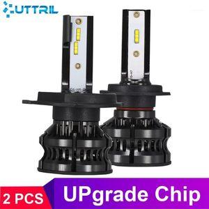 Uttril 2pcs Canbus H7 LED H1 H11 9005 9006 H4 LED Car Headlight 110W 16000LM 4300K 6500K 8000K 25000K Auto Lamp 12V Fog Light1