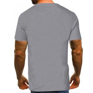 2020 New Summer Men's George Pattern Digital Printing 3d T-shirt Casual Short Sleeve Men