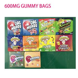 600 mg Pacchetto di caramelle Gashead Airshead Budhead 420 ERRLLI GUASTER GUSHERS Cannaburstruntz Flamin Flamin Charm Infused Candy Packaging Bag 710 acido edibles