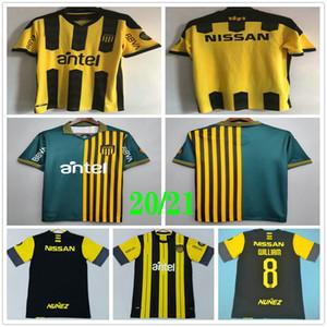 20 21 أوروغواي التذكارية الطبعة Penarol Soccer Jersey Mailleots De Foot C.Rodriguez 2020 الأصفر الأخضر كرة القدم قميص Camiseta de Futbol