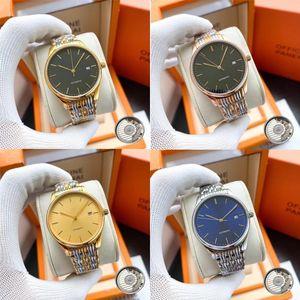 Longine Diamant Automatik-Uhr Frauen Luxus-Designer-Damenuhr Damen kleiden weibliche Schnalle Gold stieg Armbanduhr Geschenk für Mädchen Q8K3 #