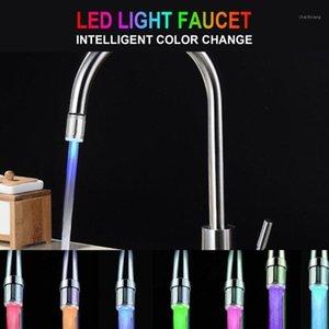 Cimiva LED Water Faucet Light 7 Цвета Изменение Водопад Световой Душевой Поток Универсальный адаптер Кухня Ванная комната Аксессуары1