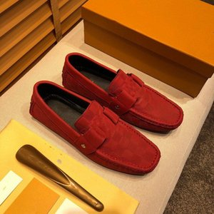 A1 дизайнерские мужчины повседневные туфли натуральные кожаные мужчины мокасины мокасины скольжения на дизайнерских мужских квартир дышащие мужские вождения обувь 38-46