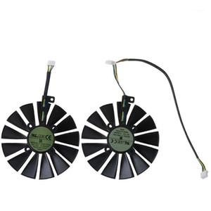 1 UNID / 1PAIR 95mm Cooler 13 Cuchas Ventilador de enfriamiento para A-SUS ROG POSEIDON GTX1080TI P11G Strix RX470 RX570 580 CARD 1