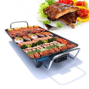 كامب مطبخ 110 فولت / 220 فولت شواء دخاني شواء التخييم طاولة كهربائية أعلى داخلي بلايت شواء لوحة nonstick bbq dog1