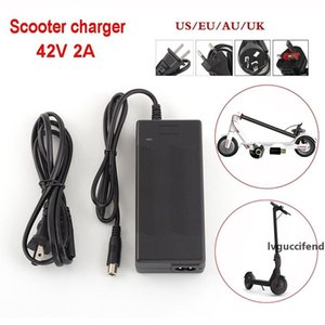NEW Universal Hoverboard Charger EU AU UK US Socket 42V 2A Lithium Battery Charger For Mijia M365 ES2 Electric Scooter