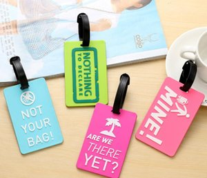 Luggage Tags Identifier Label Suitcase Id Address Holder Protection Cover Luggage Tag
