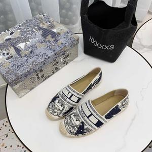 New Luxury Obliques Designer femmes Granville Espadrilles de mode Plate-forme des femmes Rosa Mutabilis Fisherman Chaussures slide Oblique