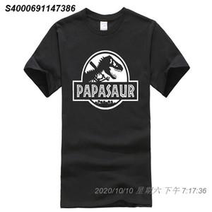 Phiking Hommes Fête des pères cadeau PAPASAUR Papa Saur T-Rex T-shirt 35171410