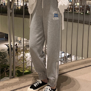 """Lin Shanshan's """"monster University daily sports pants"""" with zipper on the side ~ all kinds of leg types can be eaten"""
