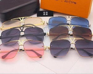 Hot selling men's Sunglasses fashion Women's Sunglasses popular Glasses Sunglasses UV protection glass lens with box