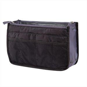 makeup bag organizer cosmetic bag Insert Handbag Organiser Purse Liner Organizer Women Storage Bag Tidy Travel