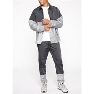 Herren Outdoor Sports Sets Mode Trend Langarm Cardigan Button Jacken Tops Hosenanzüge Designer Männliche Frühling Lässige Schnellturn