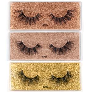 Hot Faux 3D Mink Eyelashes Messy Fake 3d Mink Lashes Natural Soft Wholesale False Eyelashes Makeups fluffy Fake eyeLashes DHL Free Shipping