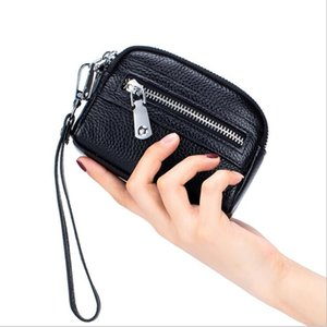 HBP Fashion Coin Purse Leather Wallet Zipper Clutch Coin Pouch Key Wallets Selling High Quality Free shipping SLD-9933