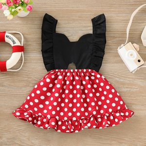 Summer Newborn Kid Baby Girl Clothes Sleeveless Dress Tutu Skirt Outfit Sundress