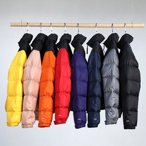 New Hot Winter Jacket Men Fashion Stand Collar Male Parka Jacket Mens Solid Thick Jackets and Coats Man Winter Parkas S-XXL