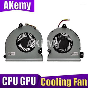 Akemy New Cooling Fan For Asus ROG Strix S7VI GL702 GL702VI laptop notebook CPU GPU Cooling Fan1