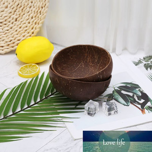 Natural Coconut Shell Home Decoration Food Container Jewelry Storage Bowl