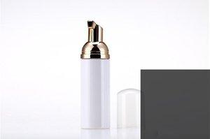 50ml Plastic Foamer Bottle Pump white liquid Soap Dispenser best cheapest Foam bottle with golden foamer DHF4620