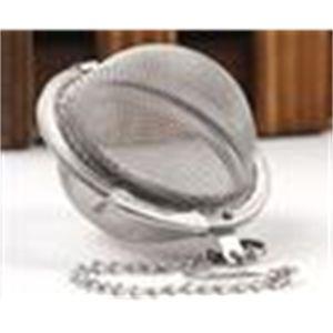 100pc chaud acier inoxydable pot d'infuser Sphère Sphere Mesh Filmeuse à thé Livraison gratuite
