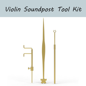 NAOMI Violon Luthier Outils Kit Set Gauge Sound Post Mesureur Retriever clip Setter Brass