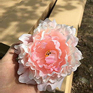 Simulate peony flower head Upscale Artificial Peony Flowers Heads Wedding Decoration DIY Supplies Accessories Multi Color Available EEA2119