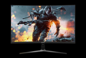 IPASON مراقب الألعاب HR272 1500R منحني 27 بوصة 1920 * 1080 75HZ ارتفاع معدل استعداد سطح المكتب 99٪ SRGB للمصممين A-SYNC 4000: 1