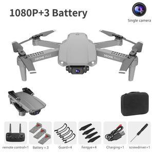 Lskj e99 برو 2 rc البسيطة بدون طيار 4 كيلو hd الكاميرا المزدوجة wifi fpv المهنية التصوير الجوي هليكوبتر طوي quadcopter dron اللعب sqchka