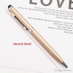 Pantalla táctil de bolígrafo Pen Metal Durable 1.0mm Ballpoint Pen Fashion Oil Ballpoint Ballpoint Bolígrafos Suministros de escritura Regalo de publicidad VT1775