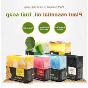 Thai Fruit Soap Natural Rose Bamboo Charcoal Moisturizing Hydrating Exfoliating Hand Washing Cleansing Soap Bath Soap