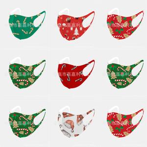 Projetado Fun bonito Par Cotton Natal Anime Mask Anti Boca Poeira Muffle Natal MaskWashable Ear laço Natal FY9120 # 719123143666