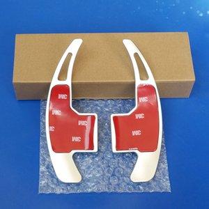 2Pcs New Original Aluminium Alloy Interior decoration Car Steering Wheel Shift Paddle Shifter For Ford Mustang 2012-2020 blue
