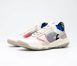 "2020 latest Delta React SP ""White Multi"" fashion function deconstruction series men and women sports jogging shoes"