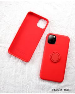 2020 newst cassa del telefono del silicone per iPhone 12 11Pro XR MAX 6 7 8plus Holder copertura posteriore del telefono classico silicone con l'anello di barretta fibbia