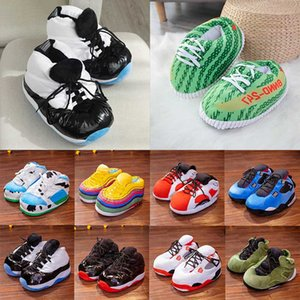 new arrival Hot sale neutral indoor Mop slippers mens women Booties warm bread Novelty slippers cute Slides Lover fashion winter