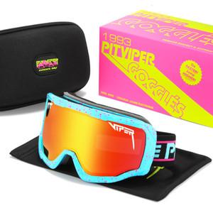 2021 Neue 75% Rabatt auf den Polarisierten Sportarten im Freien Ski-Goggles Pit Viper Sonnenbrille Gzgi