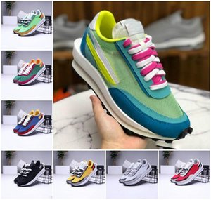 2020 New LDV Waffle Mens Running Shoes For Women UNDERCOVER x Waffle Racer lue Green Gusto Black Tripe Daybreak Trainers Varsity SNEAKERS