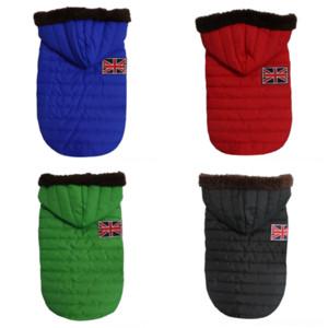 uAfz Design Leather Clothes Winter high quality Warm TwoSet Coat Jacket designer Hoodie Four Legs Detachable Dog Apparel dog apparel