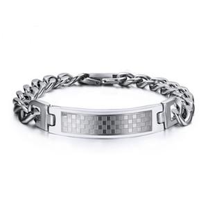 316 L нержавеющая сталь мужской браслет властная ювелирные изделия S188