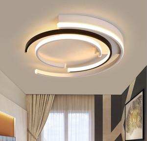 Modern LED Tavan Lambası Işıkları Oturma Odası Yatak Odası Cilası De Plasond Moderne LuminAire Plafonnier Tavan + Işıklar
