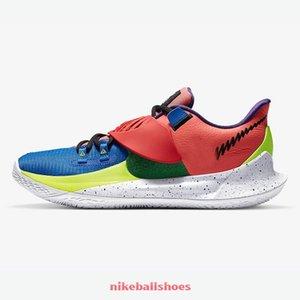 kutu Irving'in spor ayakkabısı tenis s ile satışa Koyu Sashiko NY NY vs Harmony erkek basketbol ayakkabıları ucuz yeni Kyrie Düşük 3 Glow