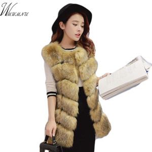 Elegant warm Faux fur Gilet pink Vest coat 2020 new vestidos casual Bar fluffy pompon vest cute teddy coat for fake fur