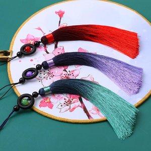 2 pcs New Black Ring Beads Borlas DIY Curtain Garment Roupa Bolsa De Carro Decorativo Artesanato Suprimentos Clássicos Estilo Tassel Pingente H Wmtyym