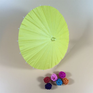 Bricolaje paraguas en blanco Papel de aceite artesanía pintura de moda paraguas de moda niños kindergarten pintado a mano manual color 6 5bs4 m2