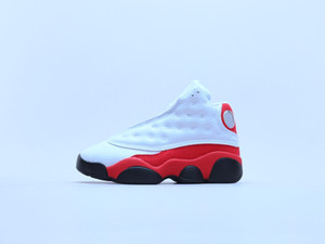 kids classic 13th basketball shoes childrens fashion outdoor sports shoes Green White Red boys girls size euro 24-35