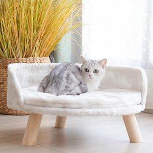 New Design Pet Bed Bed Bed Kennel Todo el año Disponible Destacable Lavable Cat Nest