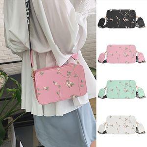 Women Bag Ladies fashion lace embroidered casual beach bags flower handbag Zipper shoulder bag Messenger bags S19