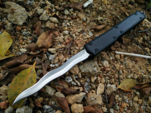 """Makora II нож двойного действия (4,45"""" Satin Plain) 106-4 autotf Тактические ножи ножи с розничной коробке"""